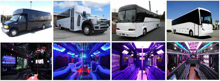 Wedding Transportation Party Buses Pittsburgh